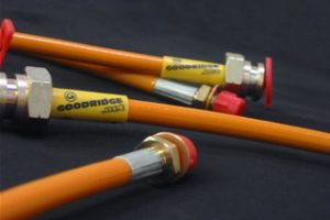Satz Stahlbremsleitungen Ford Focus ST orange Stahl