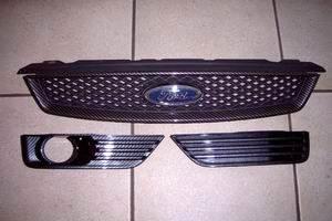 Carbonlook Kühlergrill mit Gitter Ford Focus 2 ausser ST