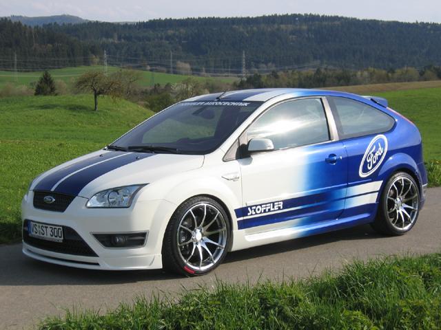 Frontspoiler Ford Focus 2 ST bis 07/Sport TDCI