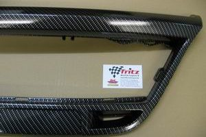 Carbonlook Rahmen für Kühlergrill unten Ford Fiesta ST 150/S