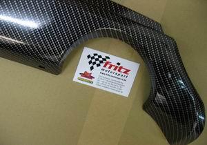 Carbonlook Blende unten Heckschürze Ford Fiesta ST 150/S