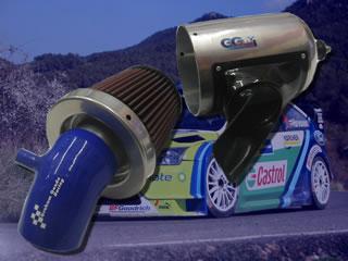 Ansaugkit komplett mit Konus Sportluftfilter Ford Fiesta ST 150