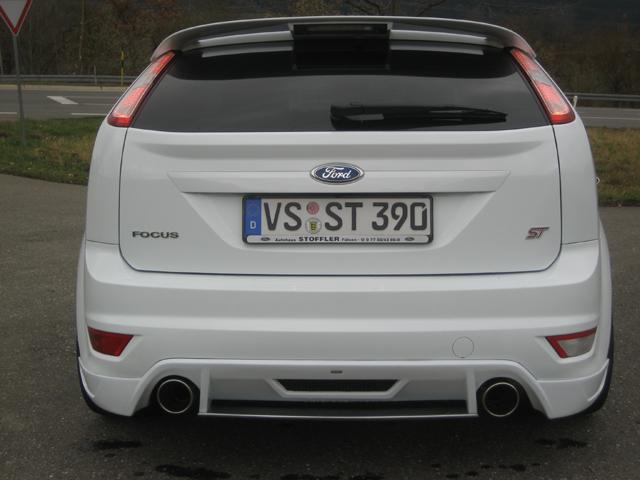 Heckschürze Ford Focus ST ab 2008