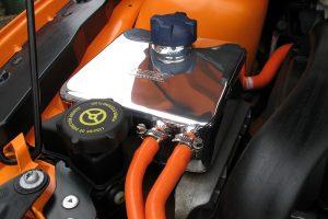 Kühlwasser-Überlaufbehälter Edelstahl poliert Ford Focus 2 ST/RS