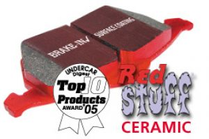 EBC Redstuff Satz Sportbremsklötze vorn Ford Focus 2 ST