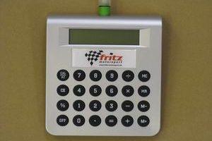 Tisch-/Taschenrechner Fritz Motorsport