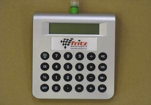 """Tisch-/Taschenrechner Fritz Motorsport """"Wasserantrieb"""""""