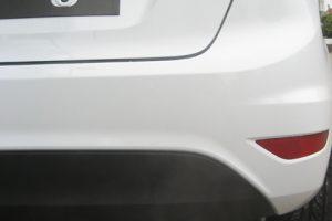 Edelstahl Sportenddämpfer Ford Fiesta 7 ab 2008 Diesel