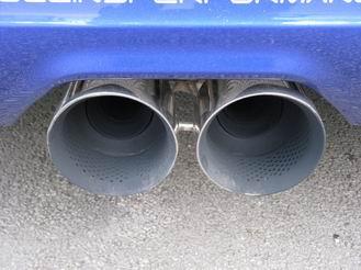 Rennsportauspuff Ford Focus 3 ST Mongoose ab Kat 127 mm schräg