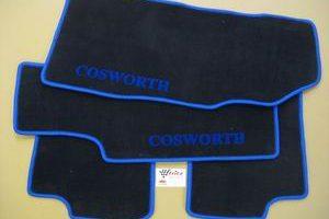 Satz Fußmatten Ford Fiesta 7 ab 2008 4-teilig