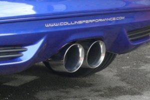 Rennsportauspuff Ford Focus 3 ST Mongoose ab Kat 100 mm schräg
