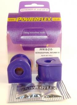 Powerflex Buchse Stabilisator hinten 14 mm Ford Escort 3/4