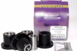 Powerflex Buchse Querlenker hi. z. Radträger Ford Escort 3/4