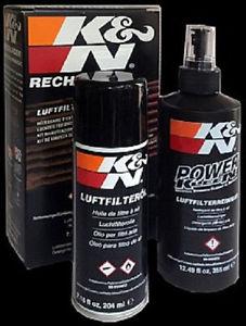 Reiniger/Einöl Kit für K&N Sportluftfilter