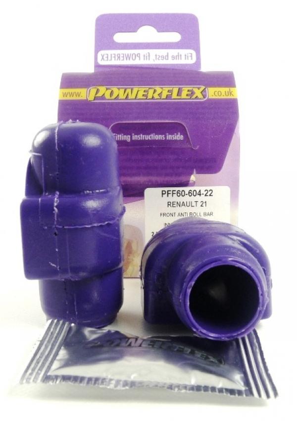Powerflex Buchse vord. Stabilisator vorn 22mm Renault 21