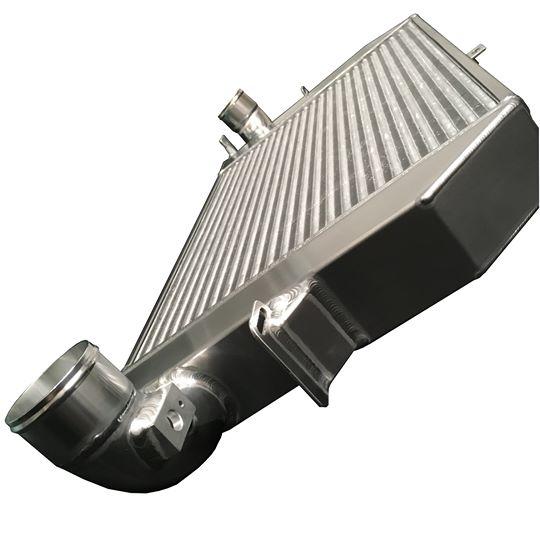 Alu Hochleistungs Ladeluftkühler Ford S-MAX 2,5 Turbo silber
