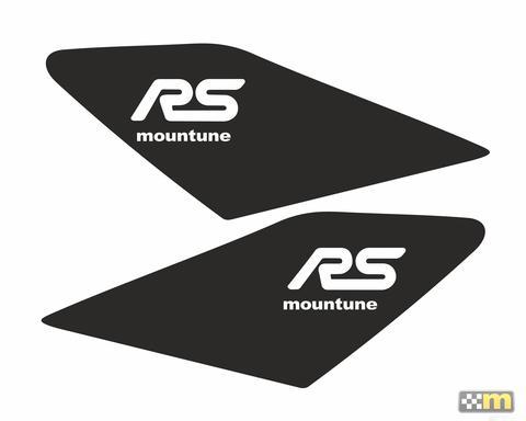 Dynamic Aufkleber Mountune schwarz Flügel Ford Focus 3 RS