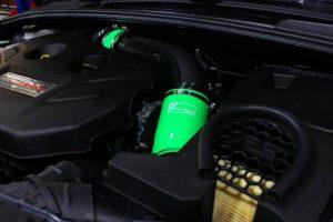 Ansaugschlauchkit GGR Ford Focus 3 RS/ST 250 Grün
