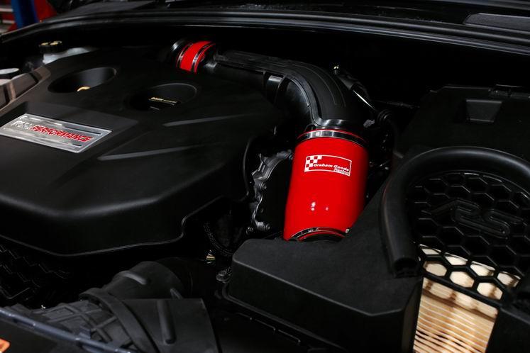 Ansaugschlauchkit GGR Ford Focus 3 RS/ST 250 Rot