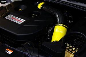 Ansaugschlauchkit GGR Ford Focus 3 RS/ST 250 Gelb