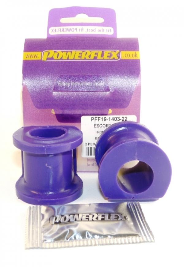 Powerflex Buchse Stabilisator vorn Escort 1/2