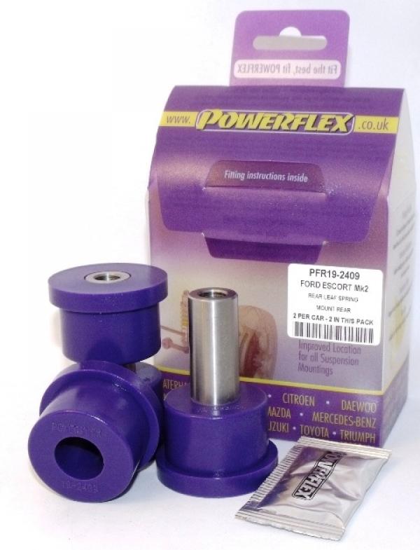 Powerflex Buchse Blattfeder hinten Escort 2