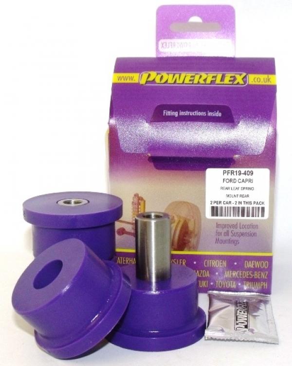 Powerflex Buchse Blattfeder hinten Escort 1