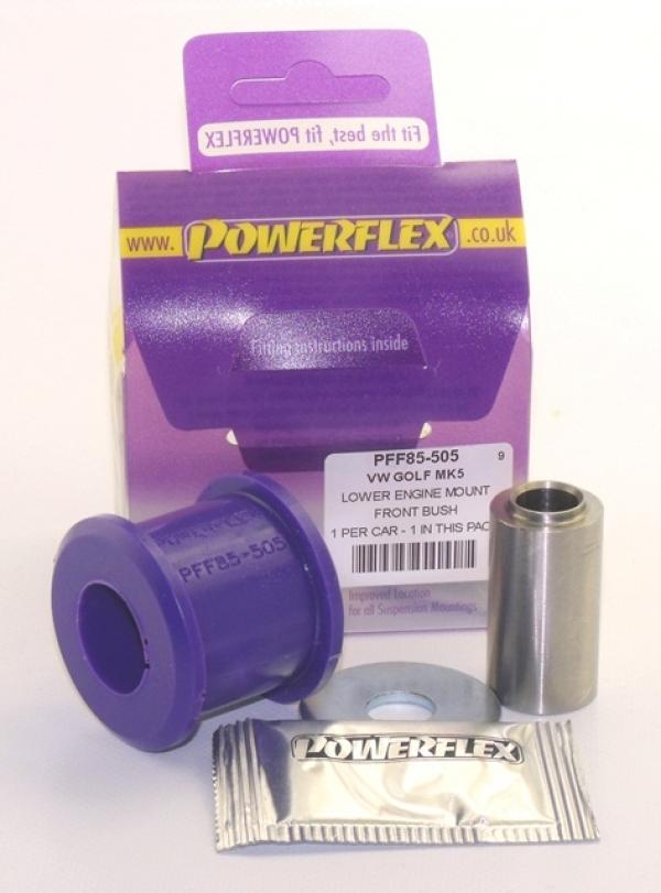 Powerflex kleine Buchse unteres Motorlager VW Golf 5