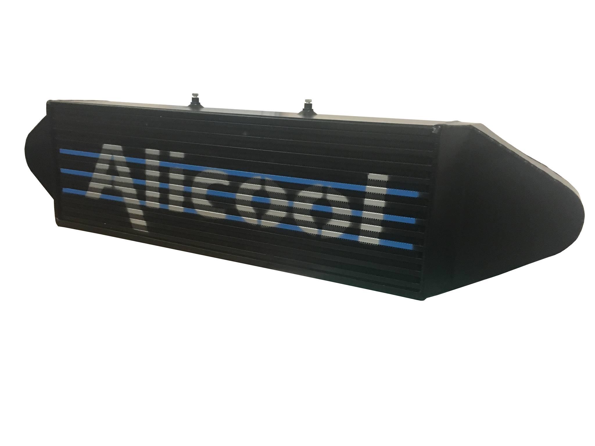 Alu Hochleistungs Ladeluftkühler Ford Focus 3 RS schwarz Alicool