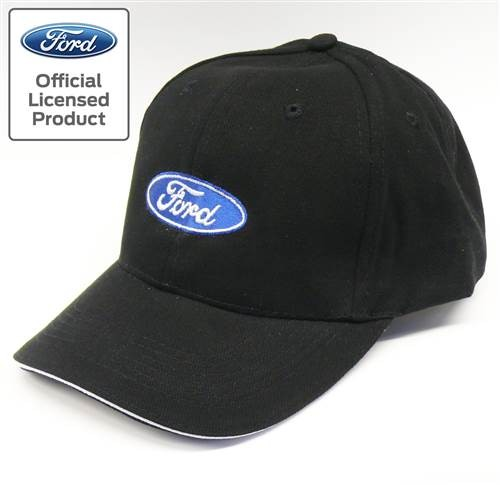 Base Cap Ford schwarz