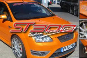 Leistungskit 221 KW/300 PS Ford Focus 2 ST300 mit Sportkat