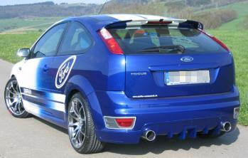 Edelstahl-Sportauspuff Ford Focus 2 ST ab Kat mit EG/BE