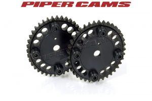 Piper Cams Nockenwellenrad verstellbar Ford Duratec 16V (Paar)
