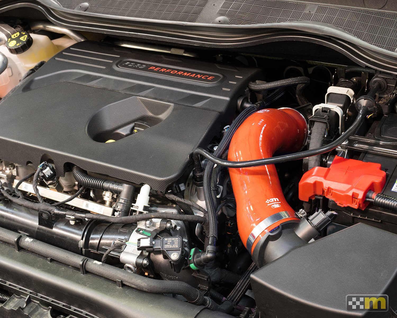 Ansaugschlauch Silikon Mountune Ford Fiesta 8 ST 1,5 rot