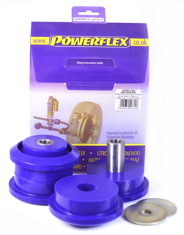 Powerflex PU Buchse hint. Längslenker vorn Mini 1 bis 2002